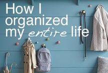 Organization / by Angie R www.ourjoyfulliving.com