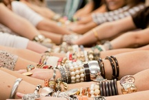 Arm Candy / or Arm Party... depending on how you see it. / by Magpie Jewellery Ottawa