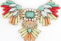 Jewelry Obsessions / Big, Bold Statement Pieces + Color / by Erin Freedman