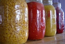 Food... About Canning / Advice and recipes. / by D.j. McLendon