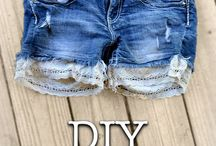 Clothing Upcycles / Upcycling, refashioning, deconstructing, and revamping old clothing to make it awesome