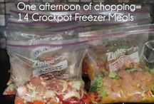 Made Ahead Meals- Freezer, Crockpot, Jars / by Jillian Robertson (Hi! It's Jilly)