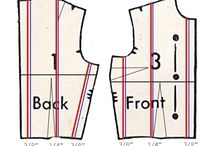 Pattern Drafting/Tailoring / Pattern drafting tips, draping, alterations, and tailoring tricks to sew garments that fit well and look polished.