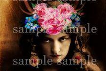 My ETSY Shoppe ~ Izabella Blue ~ Velvet and Rust ~ Digital Downloads / Digital Artwork & instant Digital Downloads Etsy Shoppe ~  Vintage & Antique Found Treasures ~ Handmade Journals ~  Velvet and Rust ~ http://izabellah.etsy.com ~