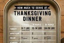 Thanksgiving + Fall Menu Ideas