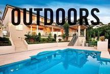 Outdoors / Some very cool outdoor spaces. Whether you're after landscape design or outdoor living areas, take a look through the best of our Smarter, Bolder and Faster Outdoor spaces from our properties around Australasia.