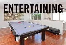 Entertaining / Adding or redoing a home entertaining area? Get some inspiration from the best of our Smarter, Bolder and Faster entertaining areas from our properties around Australasia.