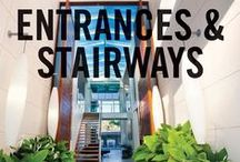 Entrances & Stairways / The most appealing home entrances and home stairways. Check out the best of our Smarter, Bolder and Faster home entrances &  stairways from our properties around Australasia.