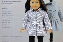"""Patterns To Buy (Dolls) / Sewing patterns to buy for 18"""" dolls like American Girl and Barbie."""