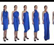 QDresses.eu / 1 QDress = 30+ Styles, Convertible Wrap Dress. Limited only by your imagination! http://qdresses.eu/