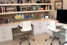 Home Office Spaces / For entrepreneurs and writers, creating a space to create and manage your business is essential.