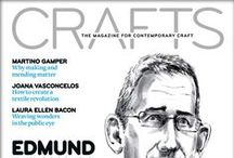 Crafts Council: Crafts Magazine covers / Quite simply our favourite magazine. We're only a little biased.  / by Crafts Council