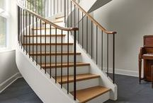 Standout Staircases / A collection of stunning stairwells elegantly designed by Talla Skogmo Interior Design.