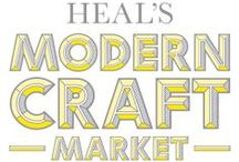Crafts Council at Discover: The Heal's Modern Craft Market 2014 / Seven makers who have been through the Crafts Council's Hothouse programme selected for Discover: The Heal's Modern Craft Market, 196 Tottenham Court Road, London, from 3-16 February 2014 / by Crafts Council