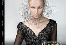 Socialite Magazine Editorial 2014 | Ema Savahl / Ema Savahl A/W aurora black glossy.