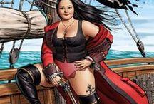 Fantasy Pirates and Squid / by Lu McKenzie