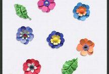 Flowers - Digital Scrapbook - CU / Digital Scrapbook, commercial use designer resource flowers