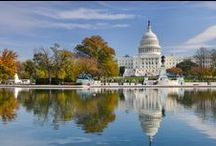 Washington D.C. Family Vacations / The Nation's capitol is an ideal place to take a family vacation, as it is a city full of monuments, museums, and distinctive neighborhoods allowing for both education and fun.  / by FamilyVacationCritic