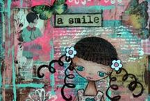Art Journalling Pages