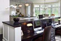 The Study / Executive home offices, unique study spaces, electronic drop zones, and stunning libraries, etc.
