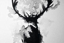 Watercolour/ink idea