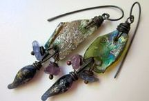 designers using numinositybeads / Jewelry made with numinositybeads by many designers components by Kimberly Rogers torch fired enamel, criffles, beads, headpins, drops and dangles