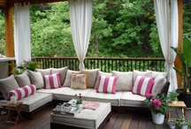Home: Backyard & Patio/Porch Ideas / by Lorie M