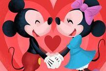 Mickey & Minnie / by Pam Reidhead