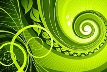 glorious green / by Pam Reidhead