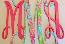 monogram obsessed / by Stephanie King