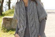 modèles de tricot / les tricots que j'ai envie de faire...