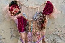 Upcycled Tops / Inspiration for creating upcycling blouses, T-shirts, jackets / by JoJosArtsiticDesign
