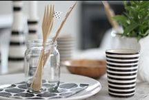 table settings / idee per apparecchiare tavola