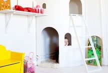P L A Y / Delicious playroom design, fun ideas and organization. Get inspired to create an amazing playroom for the little ones.