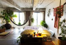 Home Achitecture: Dream Bedrooms / by Sarah Jane Rameau