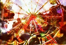 CoUnTy ♥ FaIrS / Well the County Fair left quite a mess In the county yard Kids with eyes as big as dollars Rode all the rides Strip artists and con artists Put on quite a show And made some money Then left town Where they went I don't know ~John Mellencamp / by Suzanne Cooney