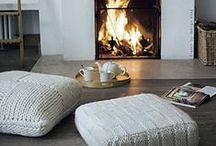 Home: Living Room / Living room, lounge, den, family room #home #inspiration #cozy