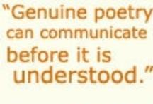 Poetry / by Stephanie Melton
