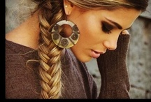 Pretty hair styling