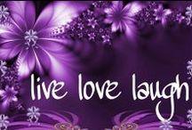 My world of purple / by Joy Denison
