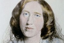 George Eliot / Mary Ann (Marian) Evans, better known by her pen name George Eliot, was an English novelist. She was one of the leading writers of the Victorian era. Her novels, largely set in provincial England, are well known for their realism and psychological perspicacity. / by Stephanie Melton