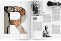 Layout & Composition / Graphic design layouts, editorial and composition inspiration