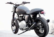 Triumph is life / Cafe Racers &  Cafe Racer Culture / by Riché