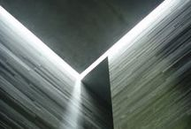 Architecture: Ambiance, Lightning and Materiality / The spirit of architecture.  / by Sarah Jane Rameau