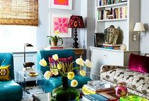 For the Home / Great spaces, mostly living rooms.  / by Kelly Cashell // Artful Warehouse