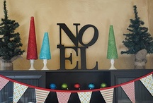Merry Holiday / Christmas decorating ideas and decor