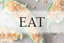 Eat / Meals | Snacks | Recipes / by Ashley In DC