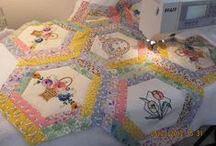 Quilts...click pins to see all of board. / by Beth Ramsey