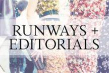Runways + Editorials / Runways | Red Carpets | Editorials | Fashion Shows / by Ashley In DC