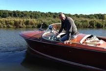 #Riva classic boats / About THE Rolls Royce among THE wooden speedboats
